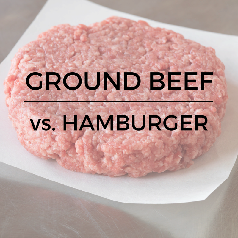 Ground Beef Vs Hamburger Do You Know The Difference