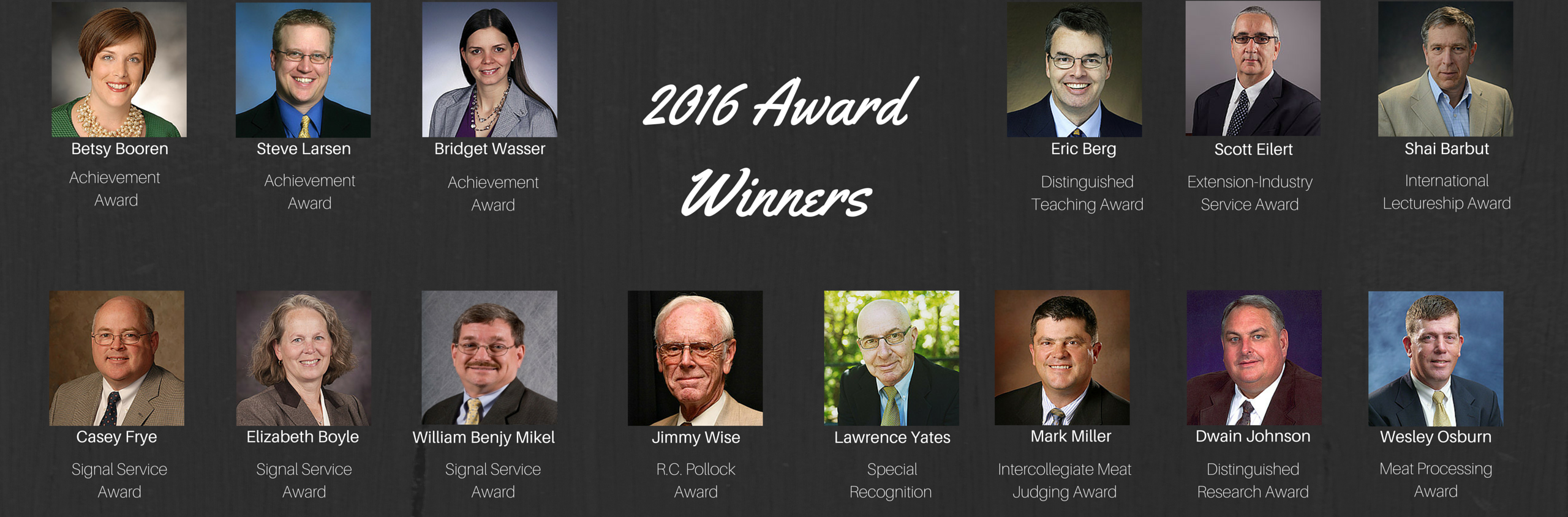 2016 AMSA RMC Award Winners