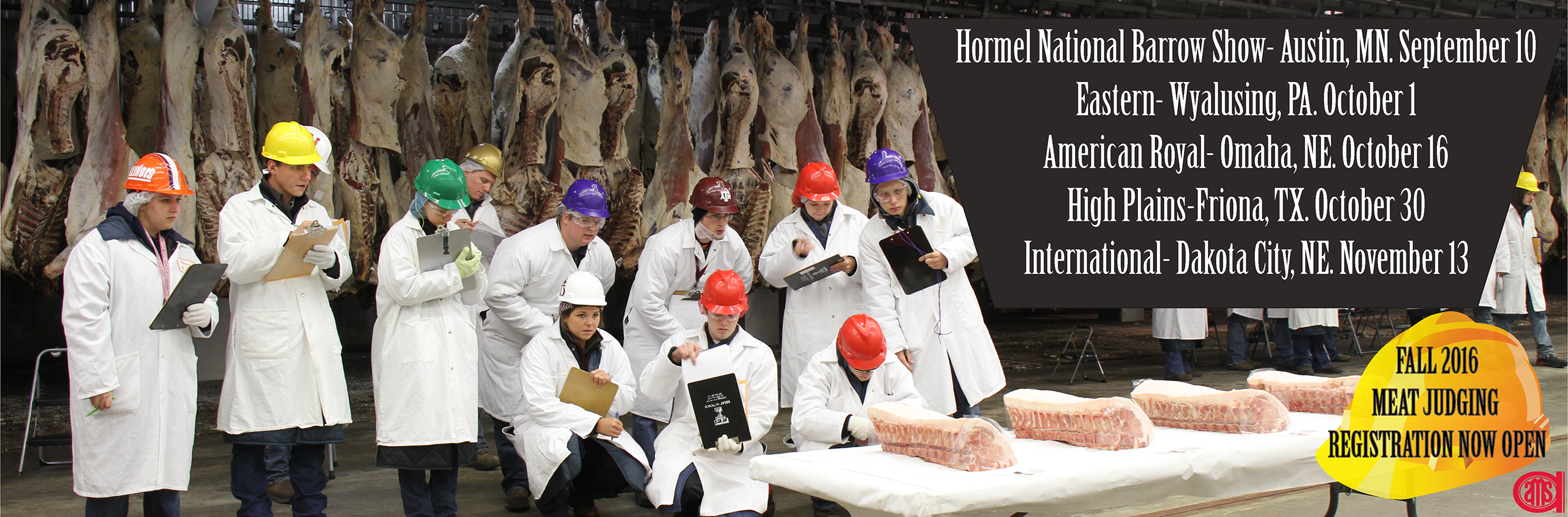 Fall Meat Judging Registration Now Open