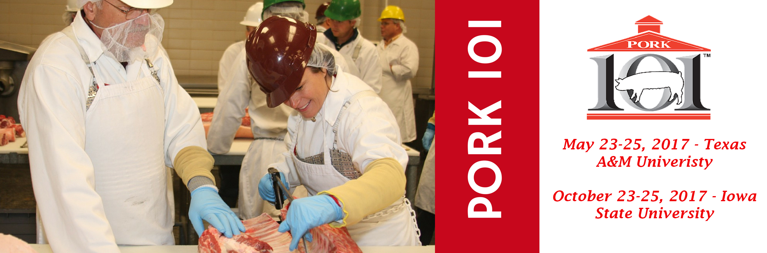 Sign-up for PORK 101 Today!