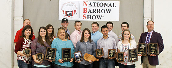 2015 Hormel National Barrow Show Intercollegiate Meat Judging Contest