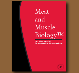 Meat and Muscle Biology