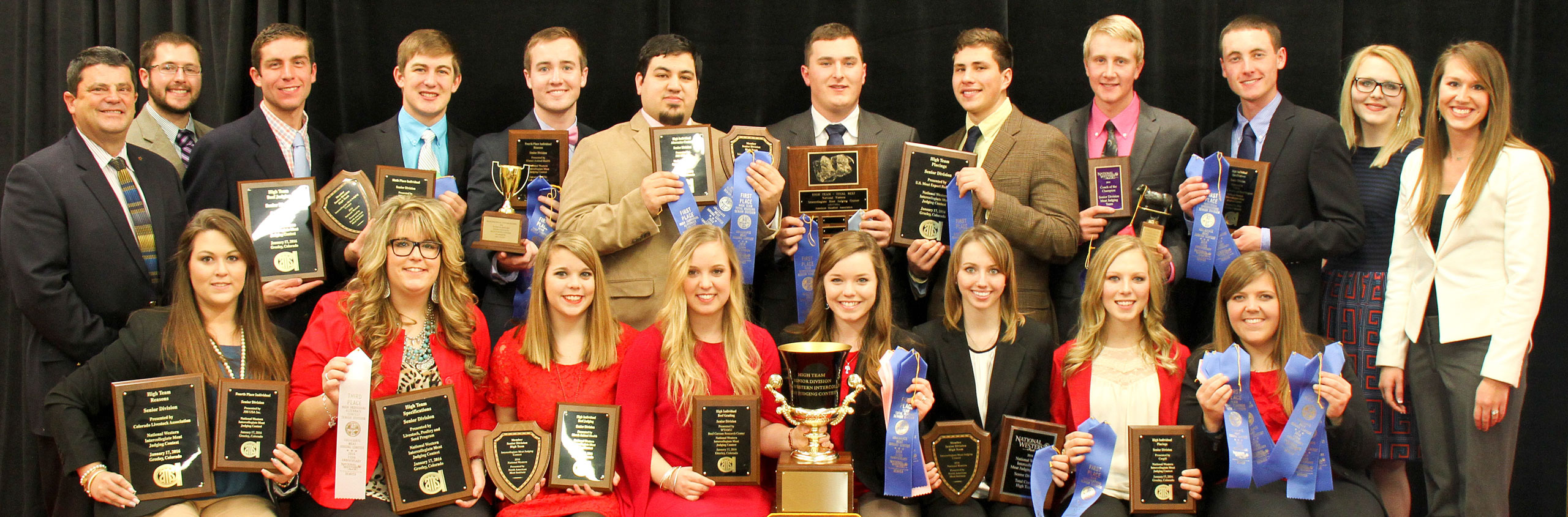 2016 National Western Contest Results