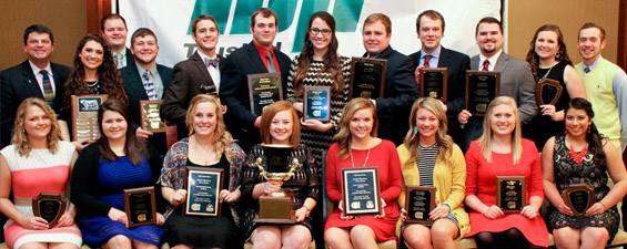 2015 Meat Judging Season Concludes at International