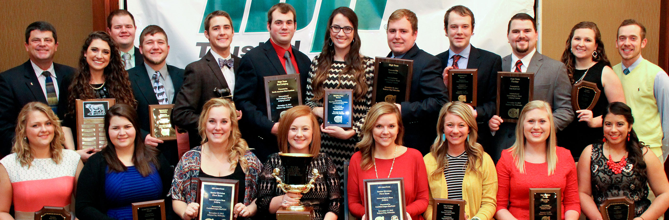 Texas Tech Named 2015 National Champion Meat Judging Team
