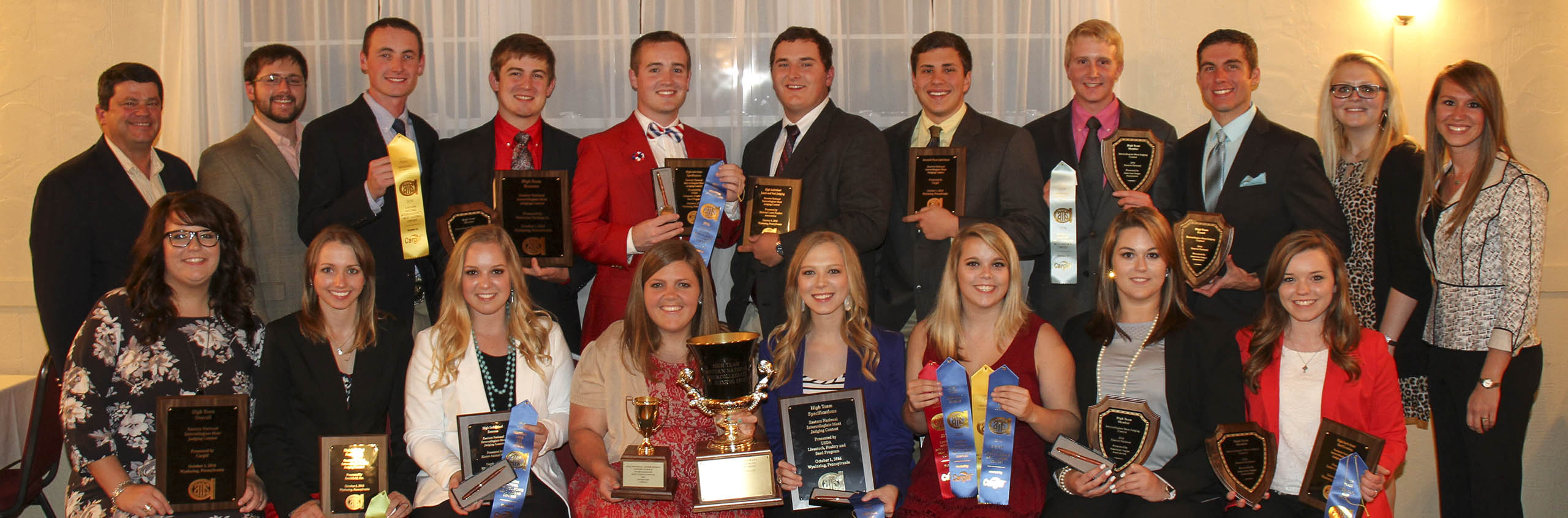 2016 Eastern National Meat Judging Results