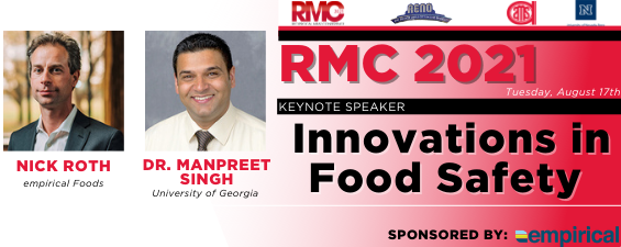 AMSA Announces Symposium Speakers on  Innovations in Food Safety