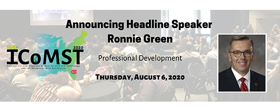 AMSA Announces Ronnie Green to Speak at the 2020 ICoMST and RMC