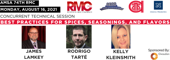 AMSA Announces Symposium Speakers on Best Practices for Spices, Seasonings, and Flavors