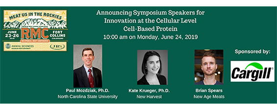AMSA 72nd RMC Symposium Cellular Level – Cell-Based Protein Speakers Announced