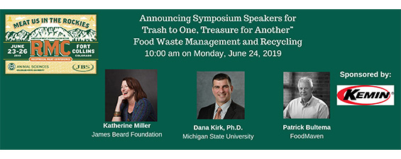 """AMSA 72nd RMC """"Trash to One, Treasure for Another"""" – Food Waste Management and Recycling  Speakers Announced"""